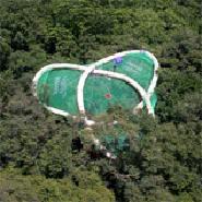 SolVin-Bretzel canopy raft (Radeau des Cimes) & IBISCA